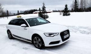 Taksi: Audi A6 Avant, 2014, 4 matkustajapaikkaa