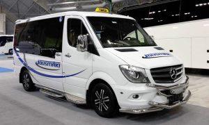 Taksi: MB Sprinter 319, 2017, 8 matkustajapaikkaa/pyörätuolit/paarit