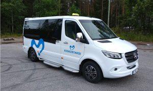 Taksi: MB Sprinter 316, 2019, 8 hlö/pyörätuolit/paarit